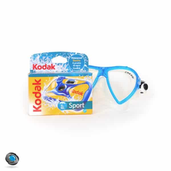 Appareil jetable étanche Kodak Ultra Sport Waterproof 27 poses