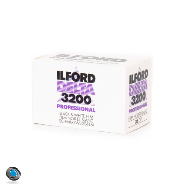 Pellicule Noir et Blanc Ilford Delta 3200 ISO, 36 poses