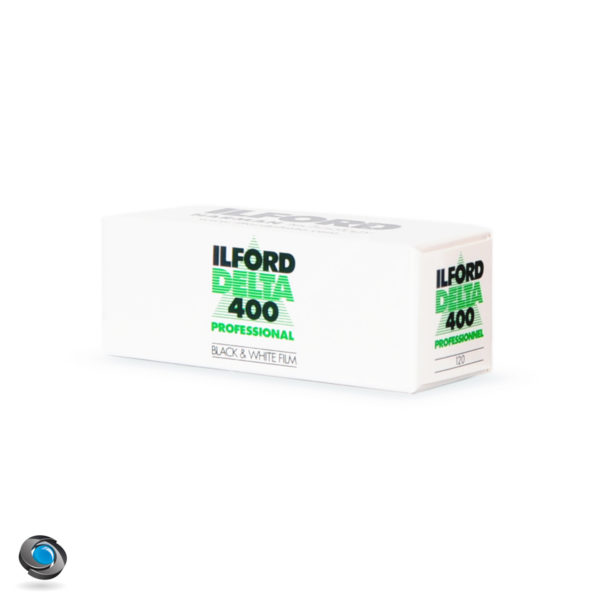 Pellicule Noir et Blanc Ilford Delta 400 120
