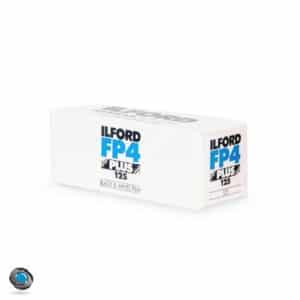 Pellicule Noir et Blanc Ilford FP4 Format 120