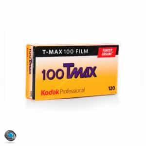 Boîte de 5 pellicules 120 Kodak TMax 100 ISO