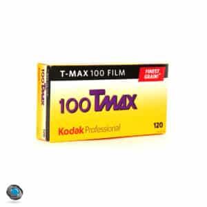 Boîte de 5 films 120 Kodak Tmax 100