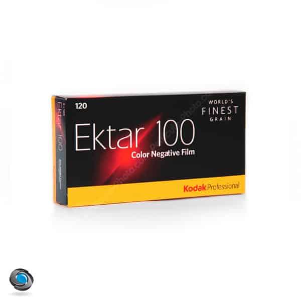 boîte de 5 Pellicules couleur Ektar 100 format 120