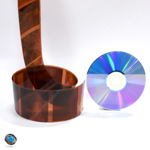 développement d'un film 120 mise sur CD