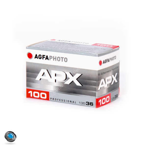 Pellicule Noir et Blanc AGFA APX 100 ISO