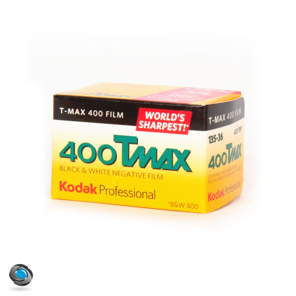 Pellicule Noir et Blanc Kodak TMax 400 ISO 36 poses