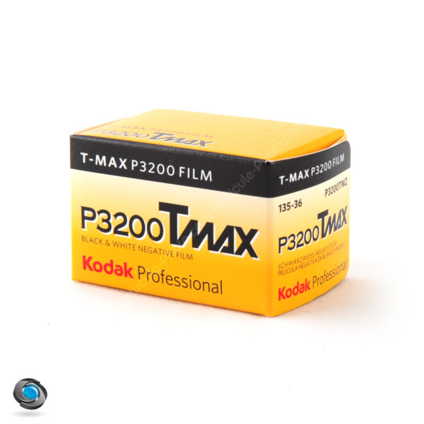 Pellicule Noir et Blanc Kodak TMax 3200 ISO