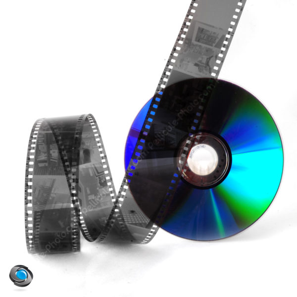 développement pellicule noir et blanc et numérisation CD