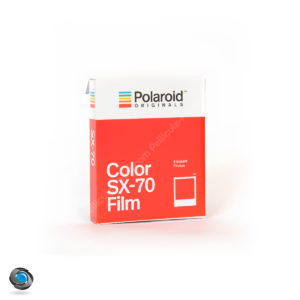 Polaroid Originals SX70 couleur 8 photos instantanées