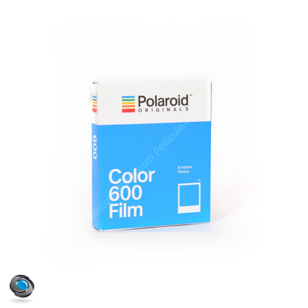 Film Polaroid Originals 600 Color, 8 photos couleur