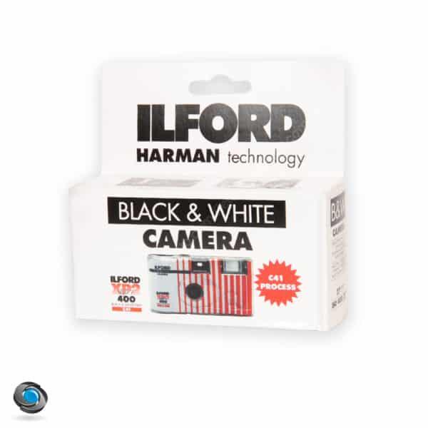 Appareil jetable Ilford noir et blanc XP2