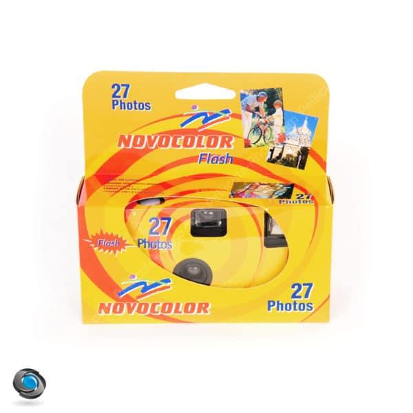 Appareil jetable avec flash Novocolor 27 poses