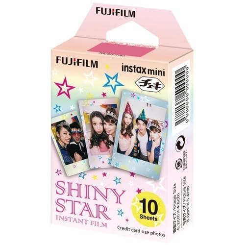 1 FILM INSTAX MINI shiny star 10 photos