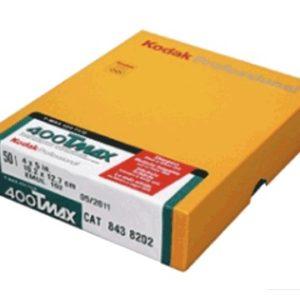 KODAK TMAX 400 4x5 inch boite de 50