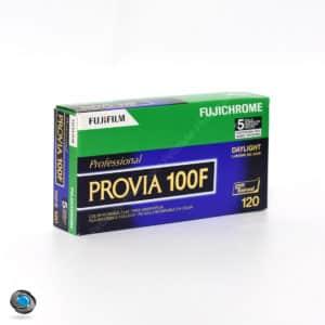 Fujichrome Provia 100F Format 120 lot de 5