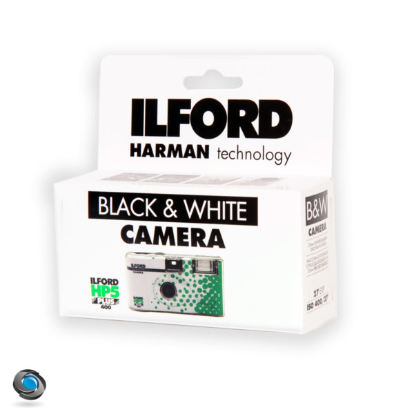 Jetable Noir et blanc Ilford HP5 27 poses