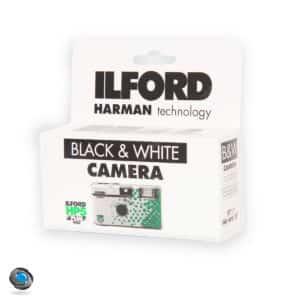 Appareil Jetable Noir et Blanc Ilford HP5