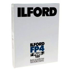 Plan-Film Ilford FP4 plus 4x5 inch boite de 25