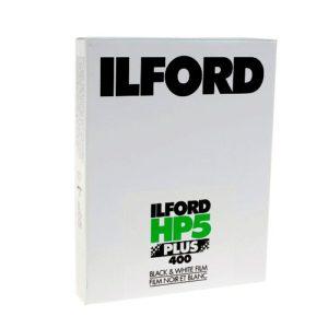 Plan Film Ilford HP5 plus 4x5 inch boite de 25