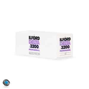 Pellicule Noir et Blanc Ilford Delta 3200 format 120