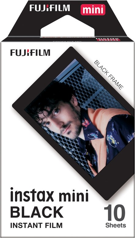1 Film fuji instax mini black frame