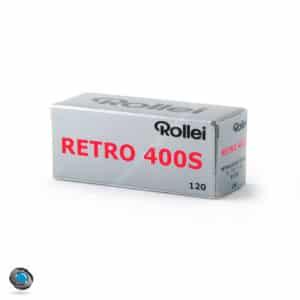 Pellicule Noir et Blanc Rollei Retro 400S 120