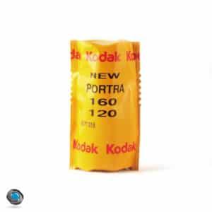 Pellicule Couleur Kodak Portra 160 format 120