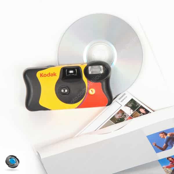 Appareil photo jetable Kodak développement et tirages compris