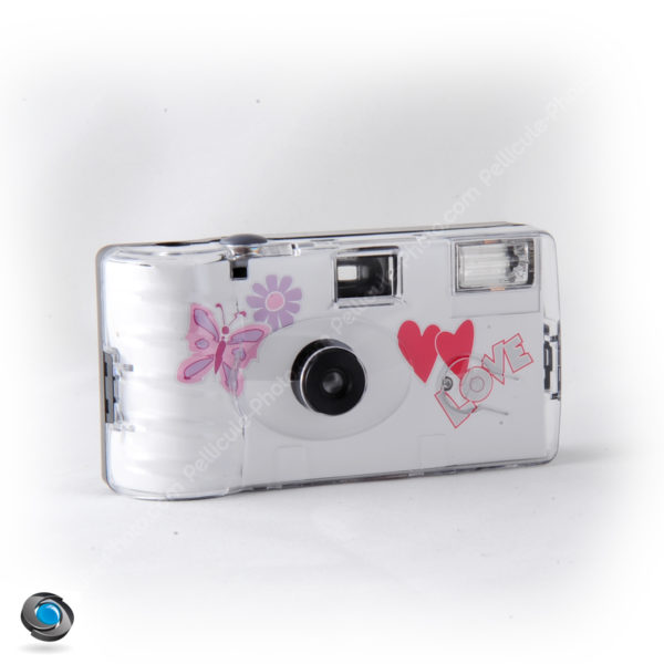 appareil photo jetable mariage Butterfly