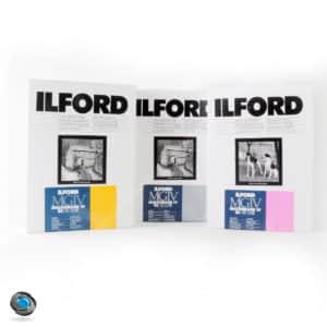 papier argentique noir et blanc Ilford MG IV