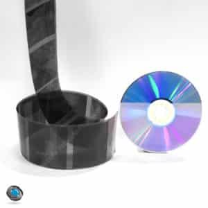 développement d'un film 120 noir et blanc et mise sur CD