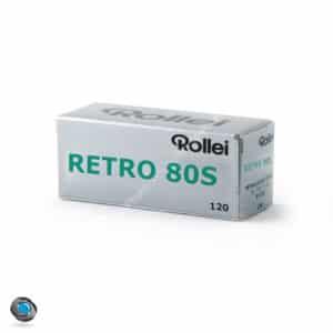 Pellicule nopir et blanc Rollei Retro 80S format 120