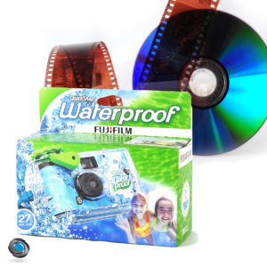 Jetable Fuji Waterproof développement sur CD compris