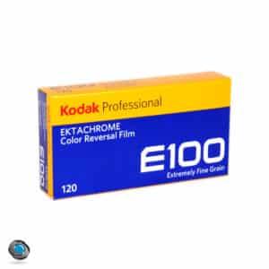 boîte de 5 films inversibles Kodak Ektachrome E100 format 120