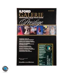 Papier photo couleur brillantILFORD Prestige Smooth Gloss 100 feuilles 13x18
