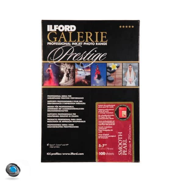Papier photo couleur ILFORD Prestige Smooth Pearl 100 feuilles 13x18