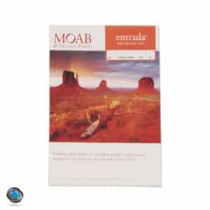 Papier photo couleur MOAB Entrada Rag Bright 300g format A4