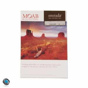 Papier photo MOAB Entrada Rag Natural pour imprimante, 300g format A4