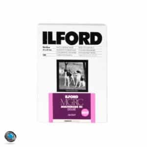 papier photo argentique noir et blanc Ilford MGRC V