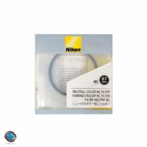 Filtre de protection pour objectif diamètre 67mm, marque Nikon