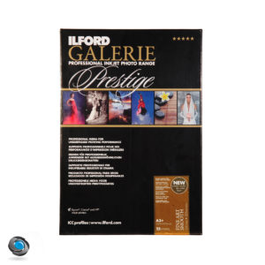 Papier couleur ILFORD Prestige Fine Art Smooth 220g double-face pour imprimante A3+