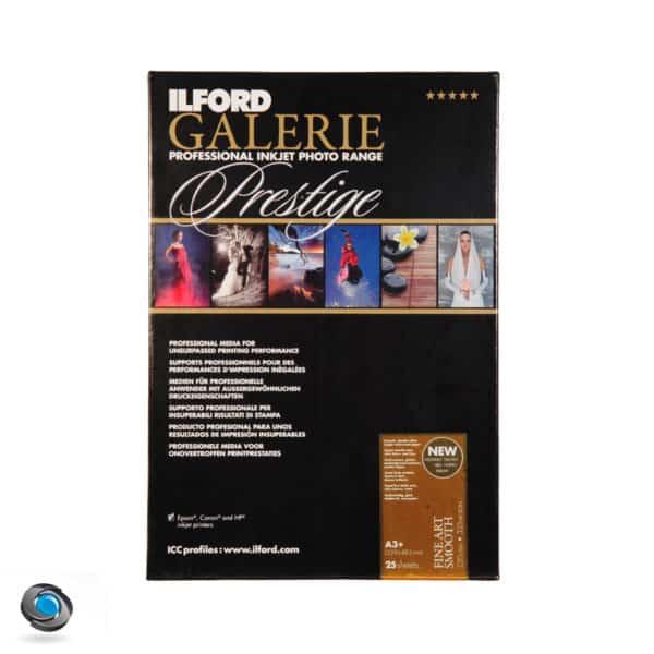 Papier couleur ILFORD Prestige Fine Art Smooth 220g double-face pour imprimante A3+