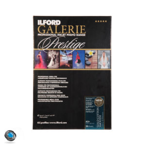 Papier photo couleur ILFORD Prestige Gold Cotton Smooth format A3+