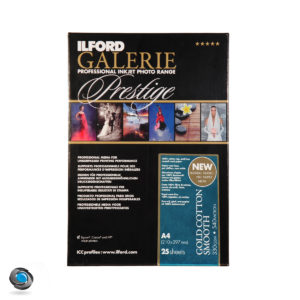 Papier ILFORD Prestige Gold Cotton Smooth A4