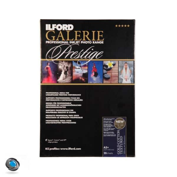 Papier photo pour imprimante A3+ ILFORD Prestige Gold Cotton Textured