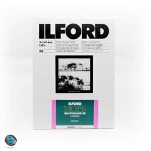 papier argentique noir et blanc Ilford MGFB baryté 13x18
