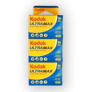 Pellicules Kodak Ultra 400 ISO 36 poses