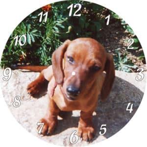 horloge personnalisée avec votre photo