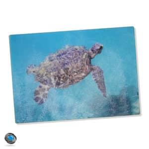 dessous de plat en verre ou planche à découper personnalisée avec votre photo