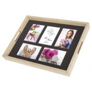 Plateau en bois à personnaliser avec vos photos